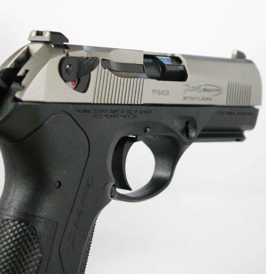 Beretta Px4 Storm 40 S W Compact Semiautomatic Pistol: Beretta PX4 Storm Full Size .40 Caliber Pistol : EBTH