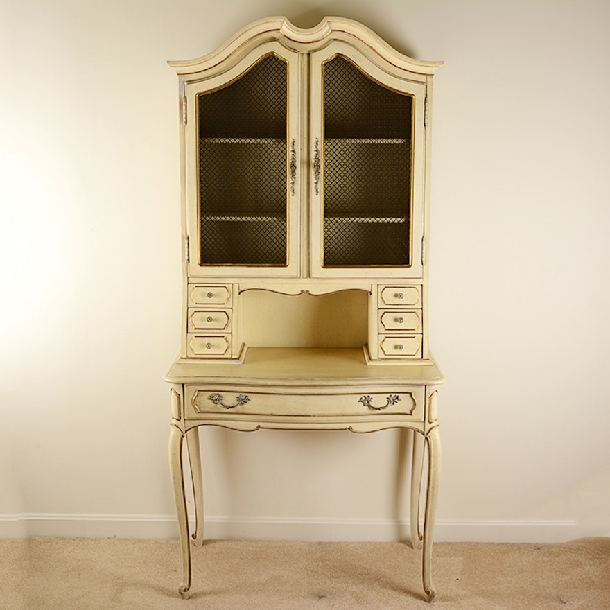 Thomasville French Provincial Secretary Desk
