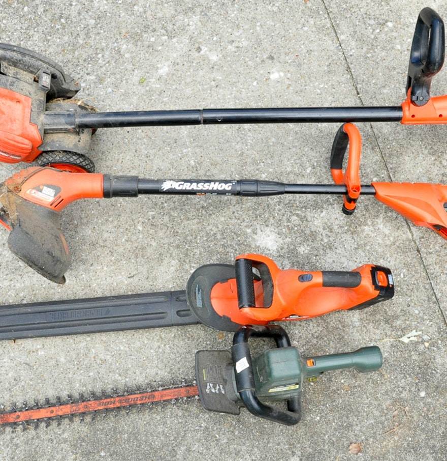 Lawn and garden power tools ebth for Lawn and garden tools for sale