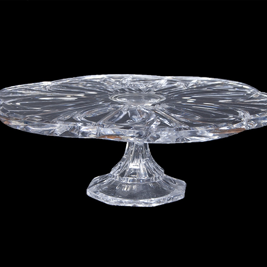 Block Crystal Cake Stand