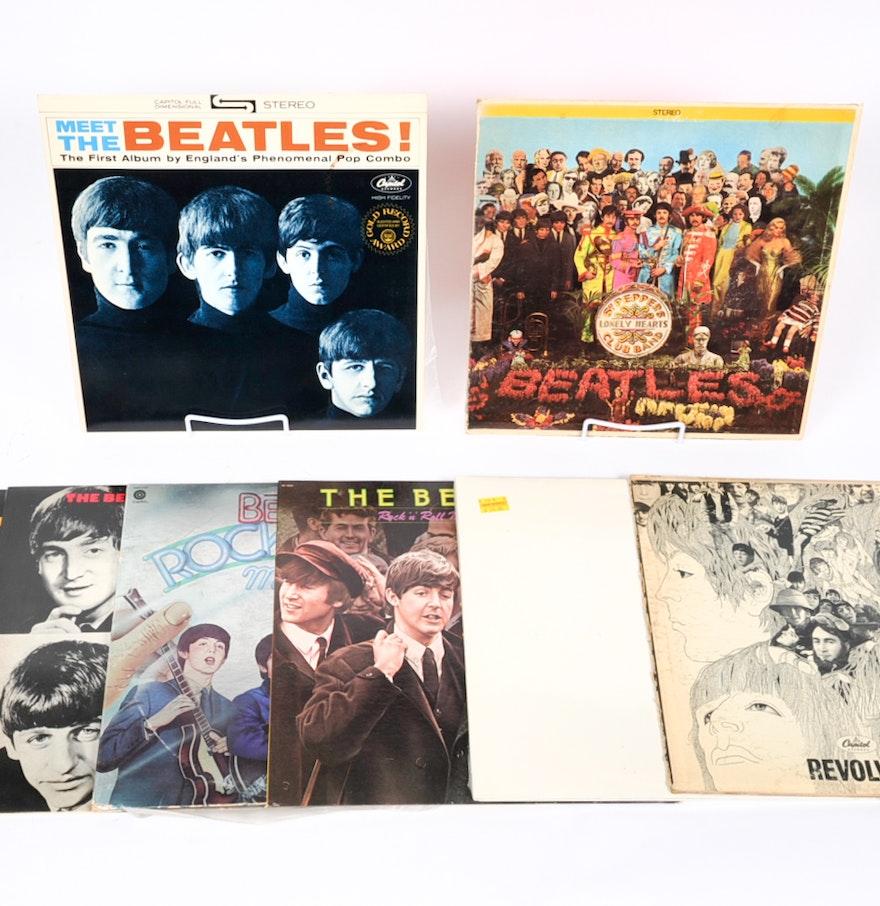Vintage Beatles Record Albums Ebth