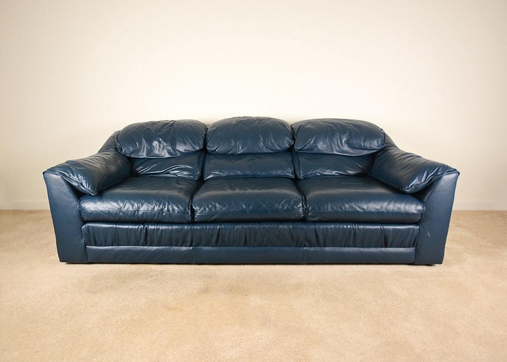 Barclay Furniture Blue Sofa ...