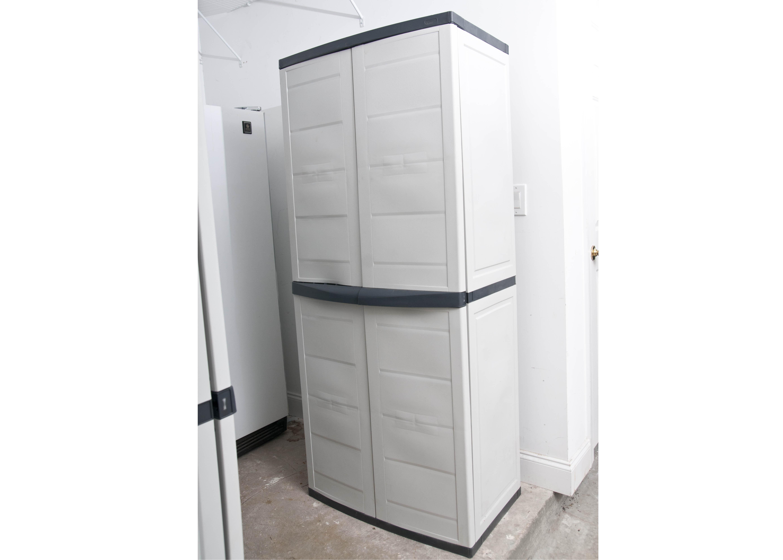 Double Door Workforce Cabinet : EBTH