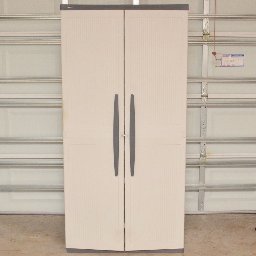 Plastic Black And Decker Storage Cabinet