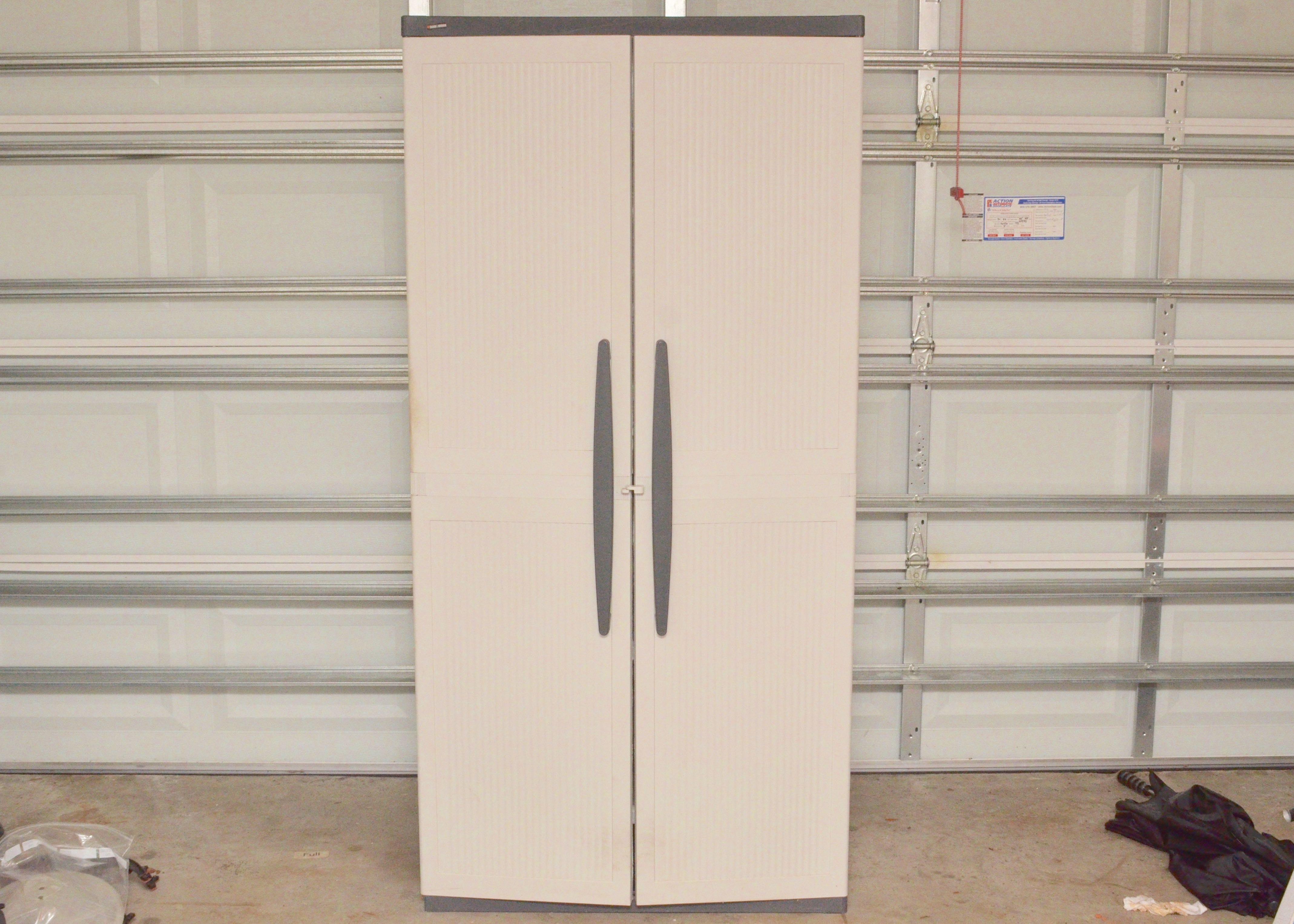 Plastic Black And Decker Storage Cabinet ...