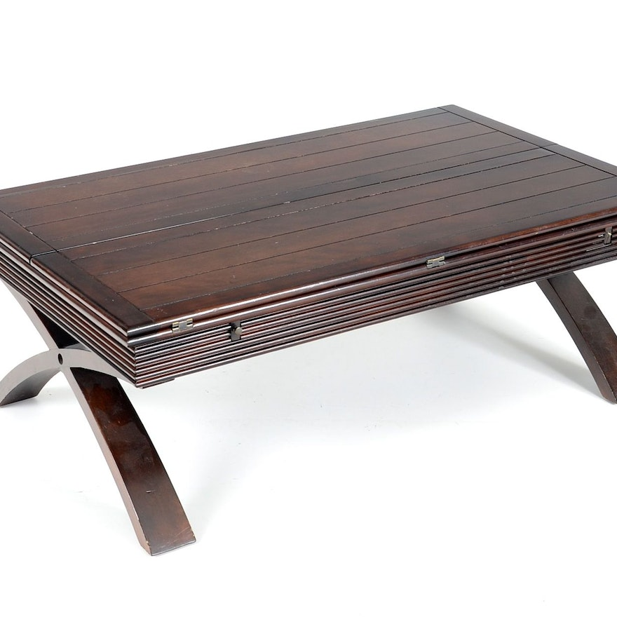 Wood Flip Top Coffee Table