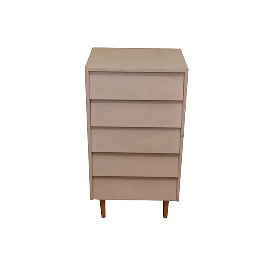 Mid-Century Modern Painted Dresser