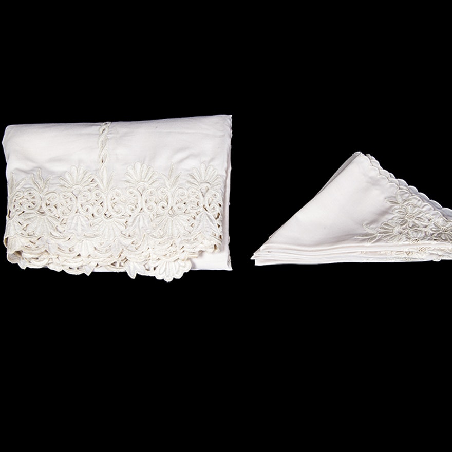 Embroidered Dining Linens