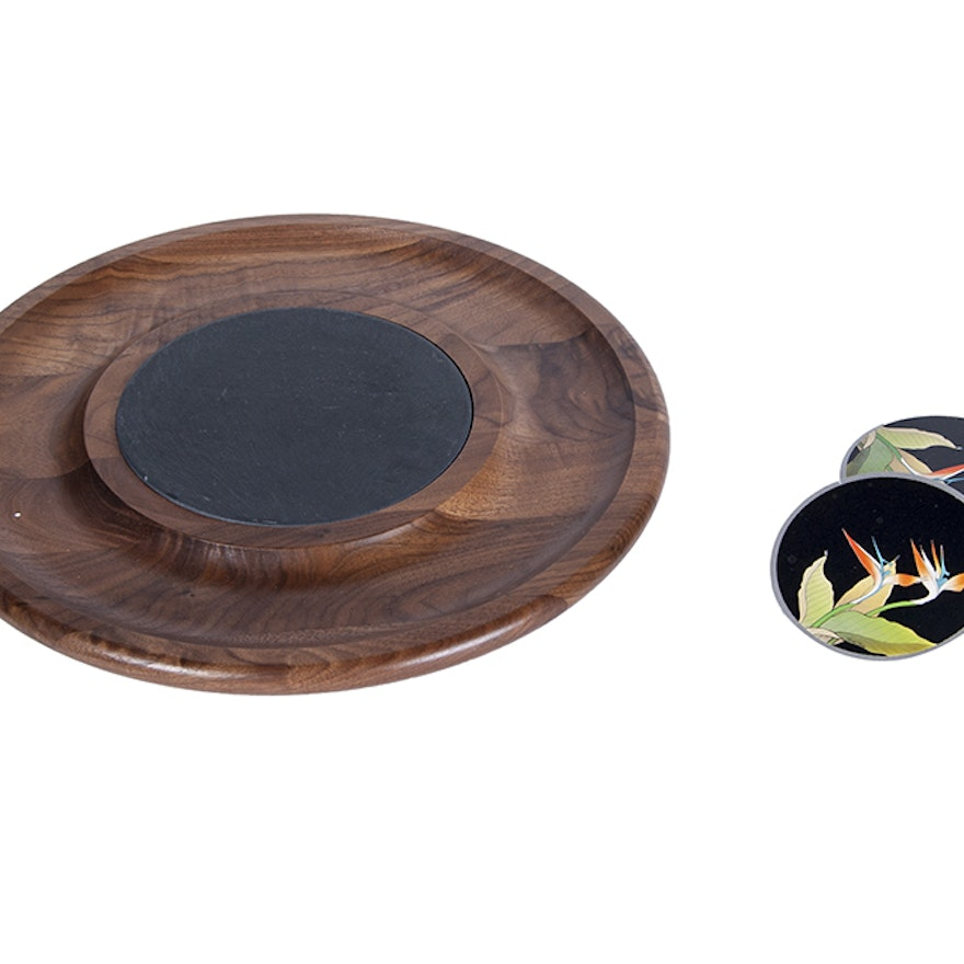 Lazy Susan and Coasters