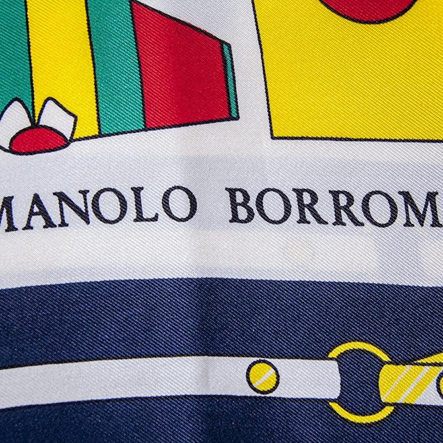 Manolo Borromeo Scarf