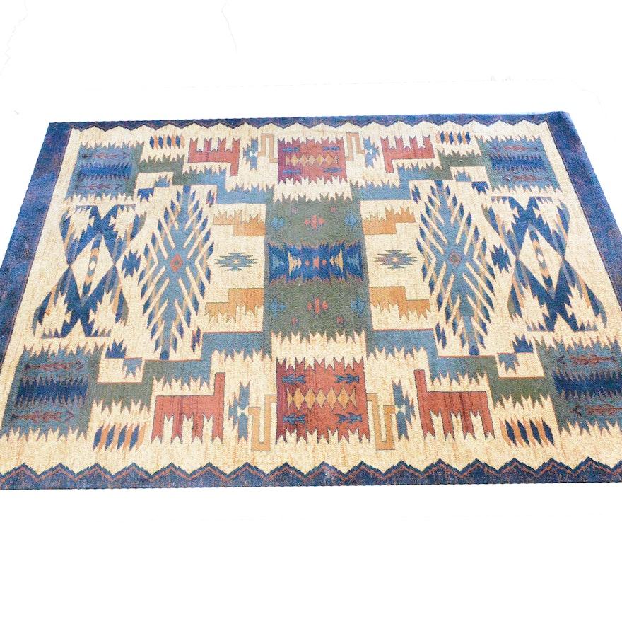 native american inspired area rug ebth. Black Bedroom Furniture Sets. Home Design Ideas