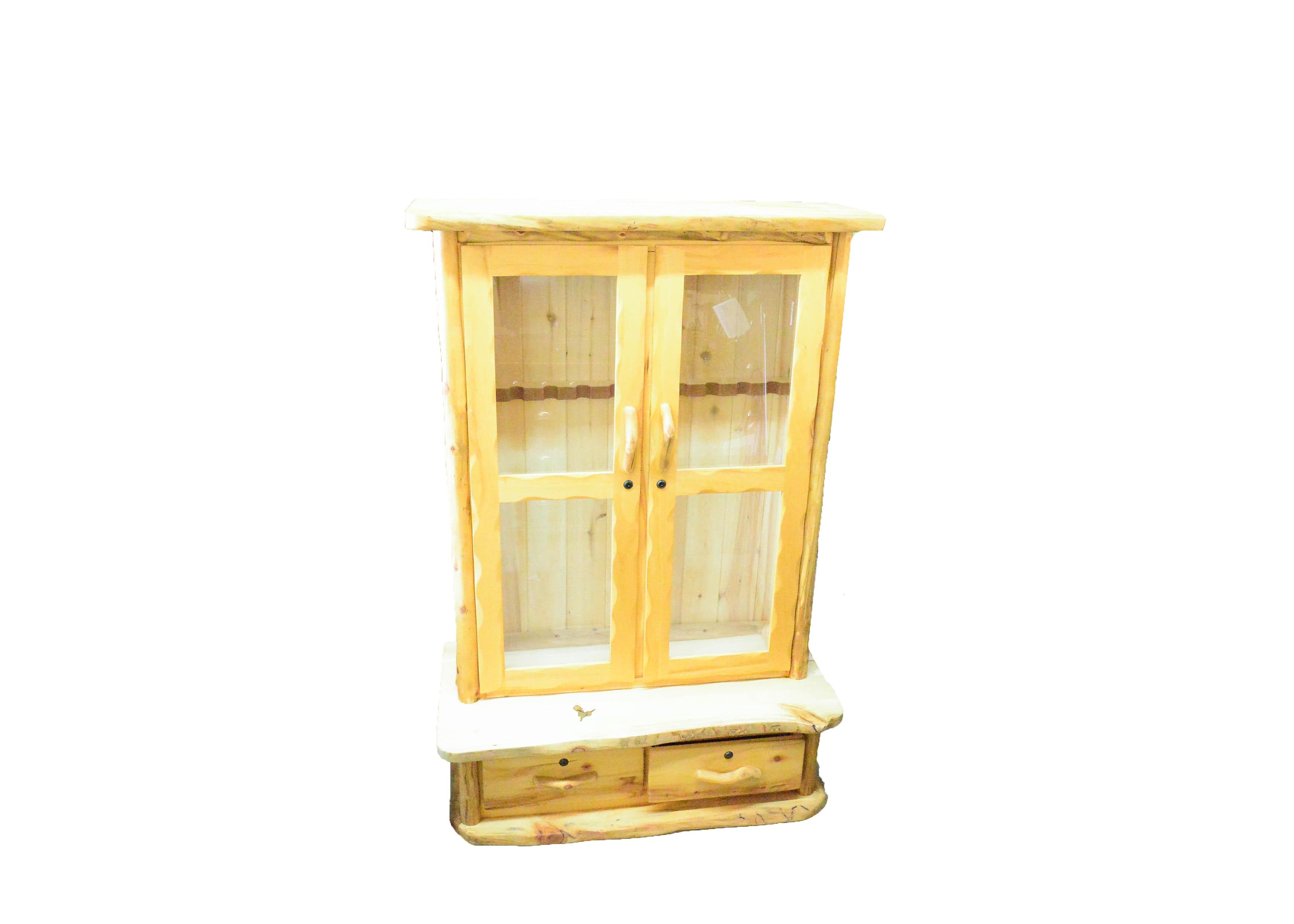 Large Cedar Gun Cabinet ...
