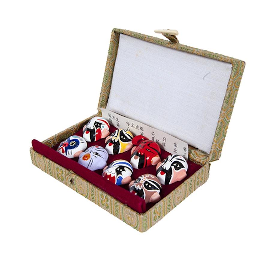 Miniature Peking Opera Masks