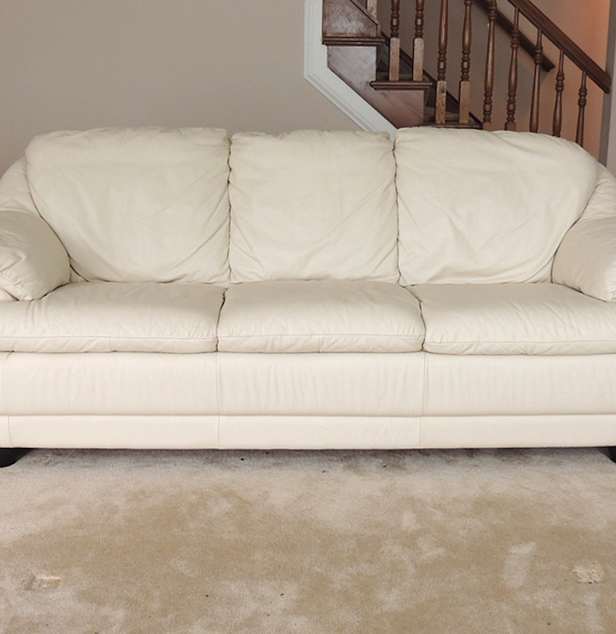 Off White Leather Sofa Brilliant White Leather Sofa Set
