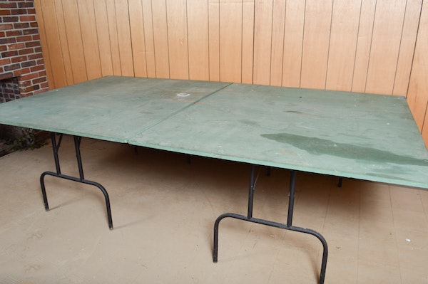 Vintage Ping Pong Table Ebth