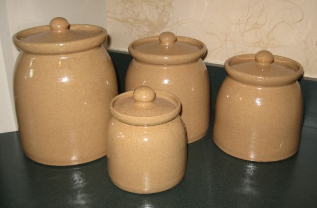 100 pottery kitchen canister sets retro kitchen canisters