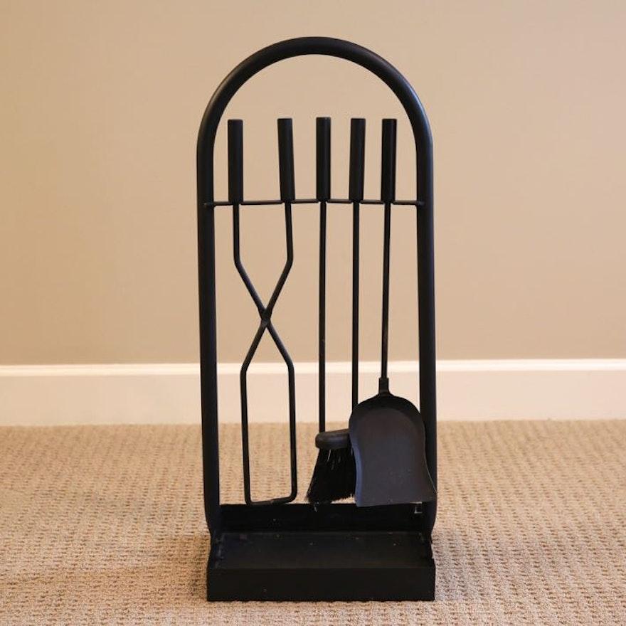 Black Iron Fireplace Tools