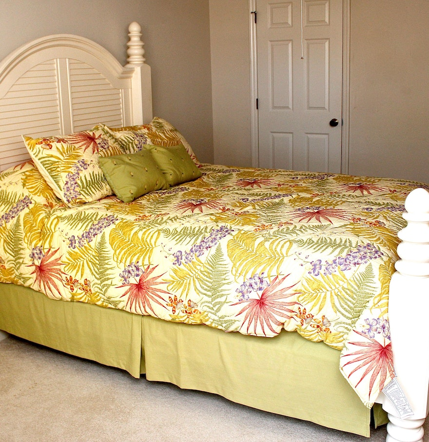 plantation style bed ebth