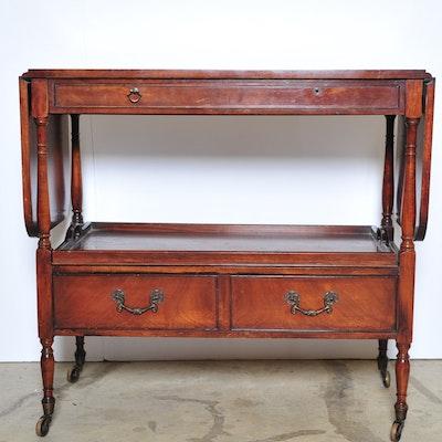 Butler's Sideboard - Online Furniture Auctions Vintage Furniture Auction Antique
