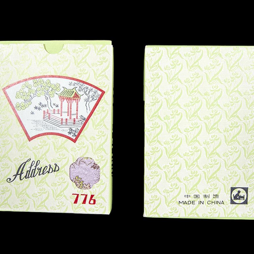 Vintage Chinese Address Books