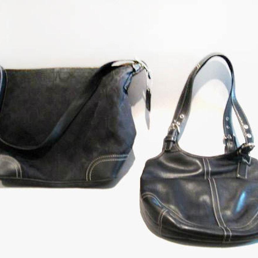 Pair of Coach Handbags