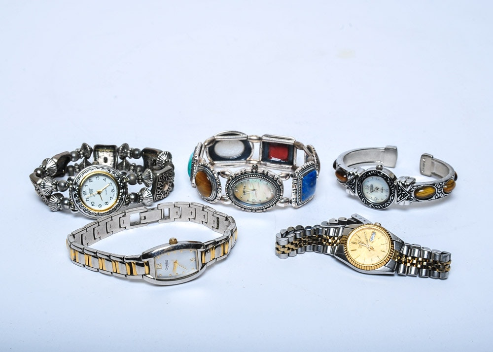 Womenu0027s Costume Jewelry Wristwatches ... & Womenu0027s Costume Jewelry Wristwatches : EBTH