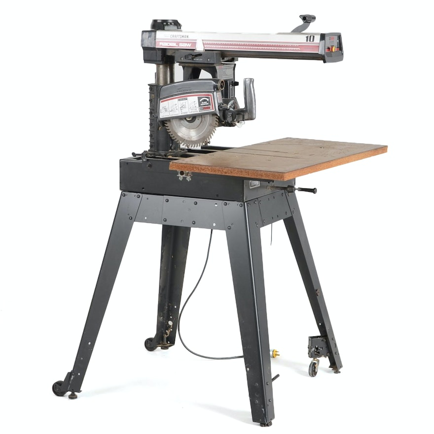 Sears craftsman 10 inch radial arm saw ebth for 10 inch table saw craftsman