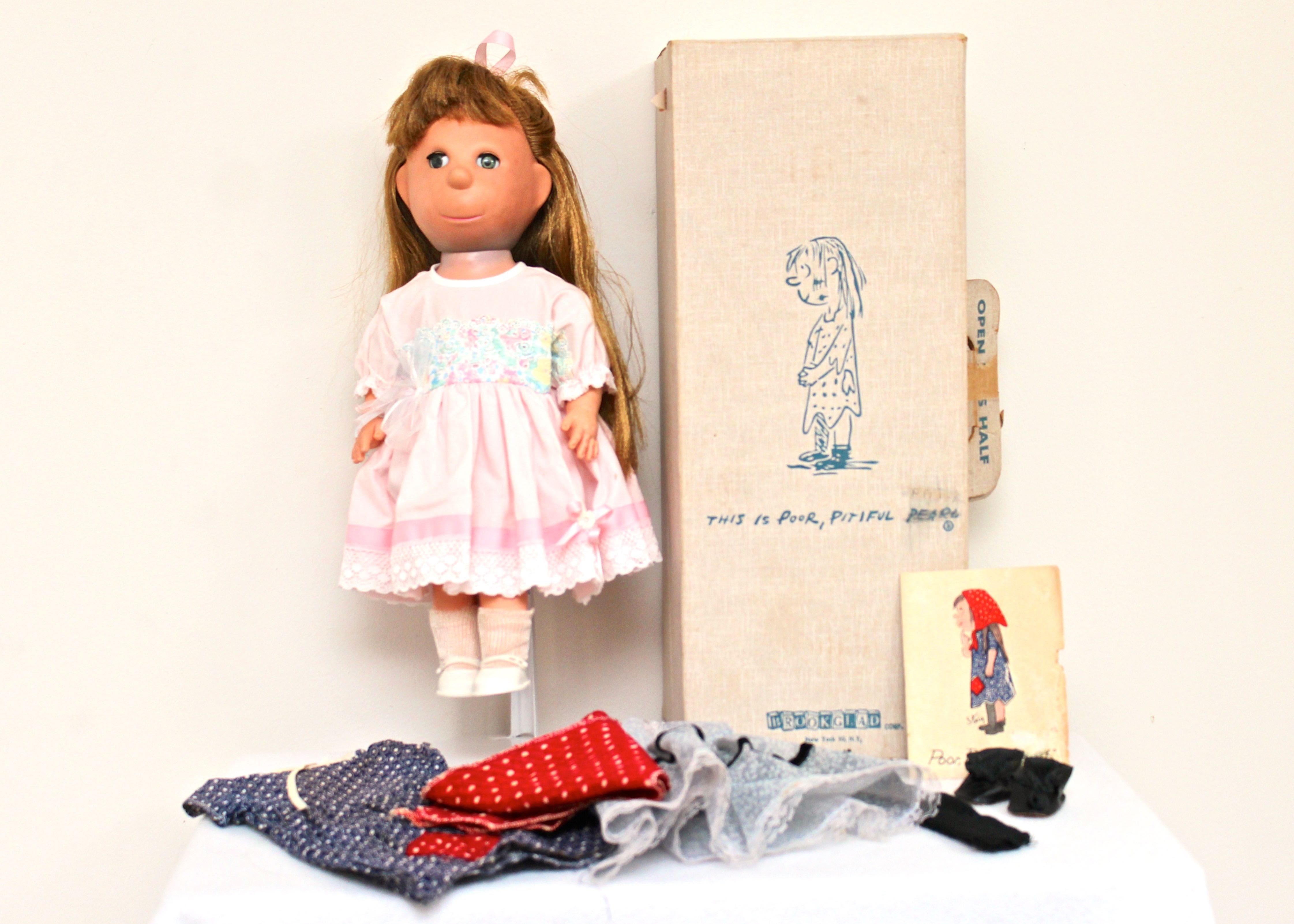 """Southwest Auto Sales >> Brookglad """"Poor Pitiful Pearl"""" Doll With Extra Clothes : EBTH"""