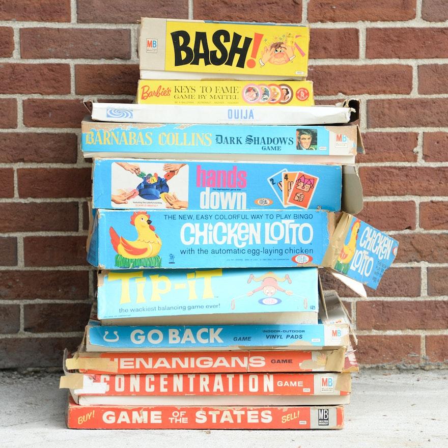 Vintage 1960s Board Games