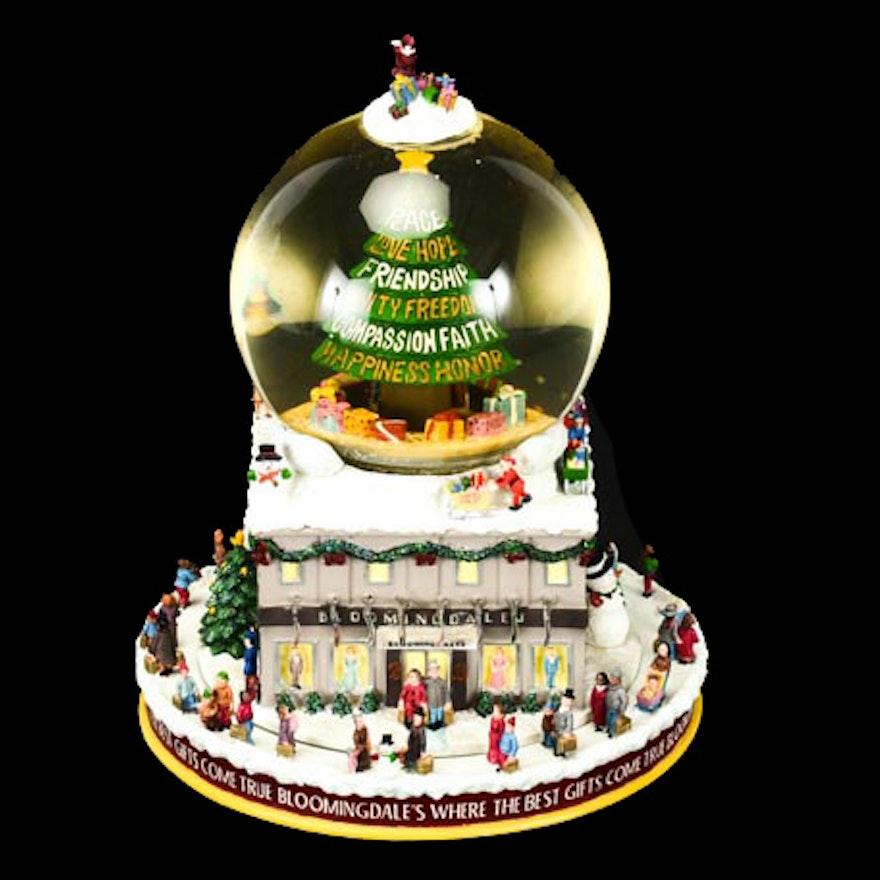 Bloomingdale's Musical Snow Globe ... - Bloomingdale's Musical Snow Globe : EBTH
