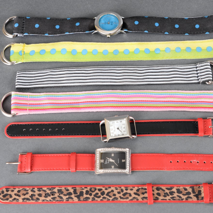 Interchangeable Watches with Bands