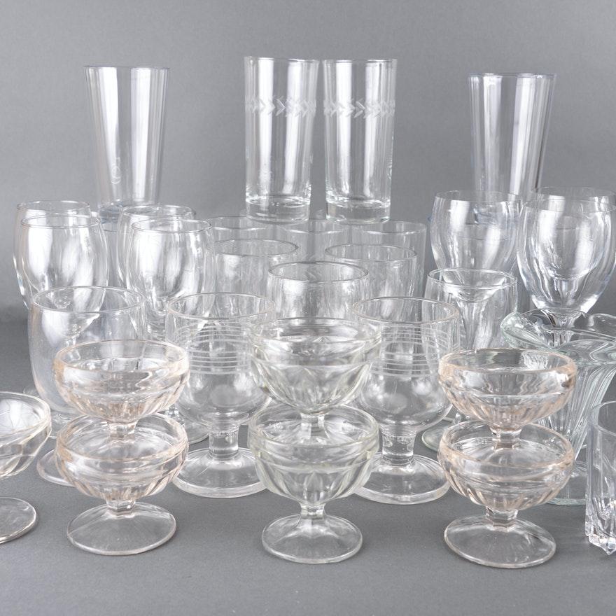Assortment of Glasses