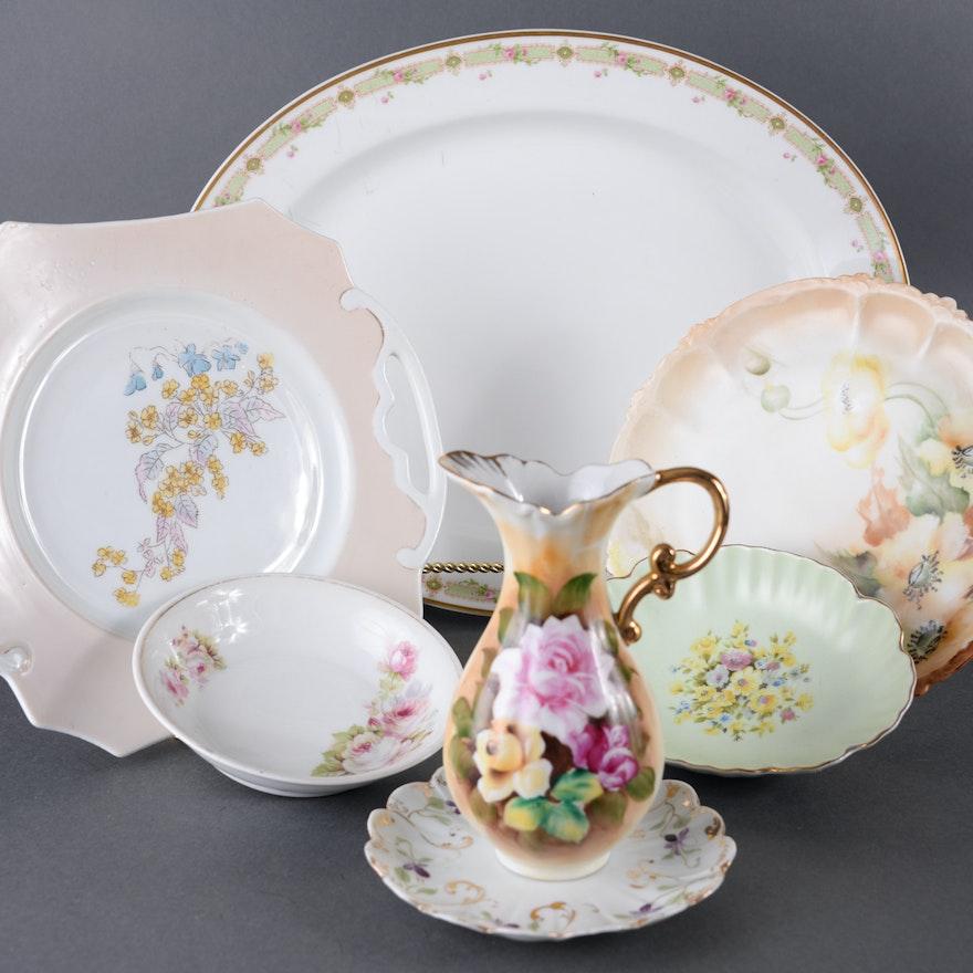 Assortment of Vintage Porcelain