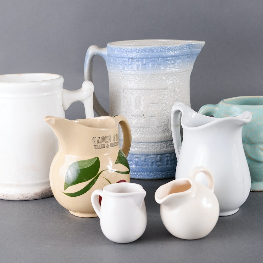 Collection of Pitchers