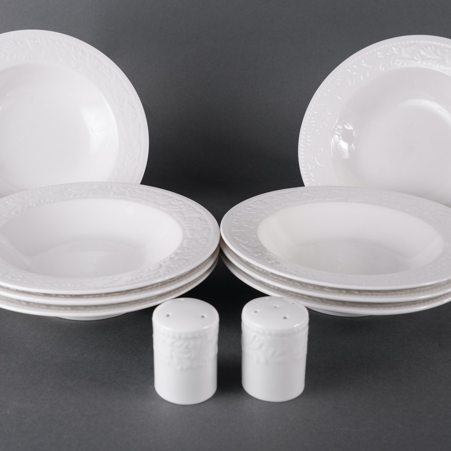 Garland Bowls and Salt and Pepper Shakers