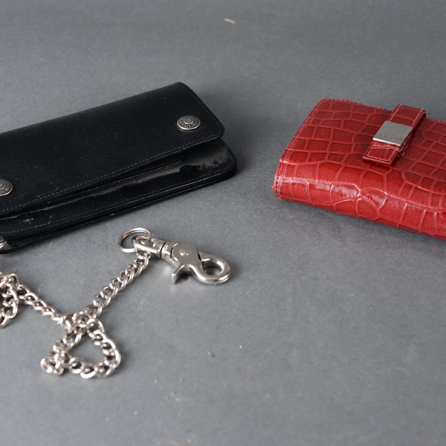Lady's and Man's Wallets