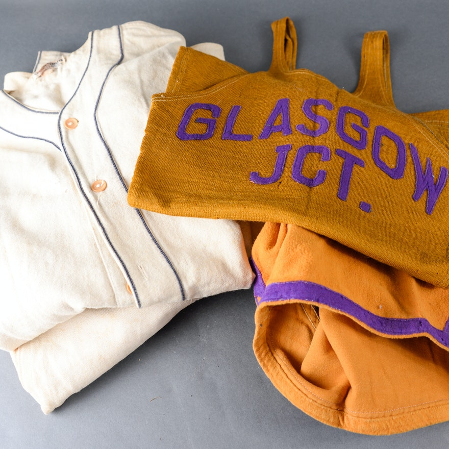 Depression-Era Boy's Athletic Uniforms