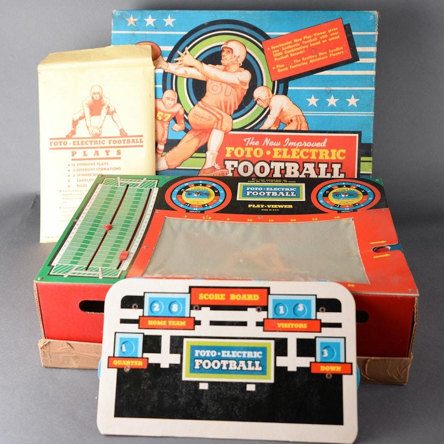 Vintage Foto-Electric Football Game
