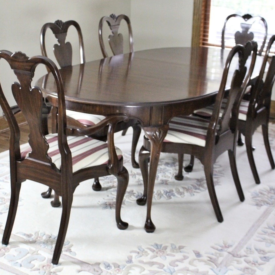 Furniture Of America Mallory Formal Cherry Red: American Heritage Cherry Diningroom Set By Harden