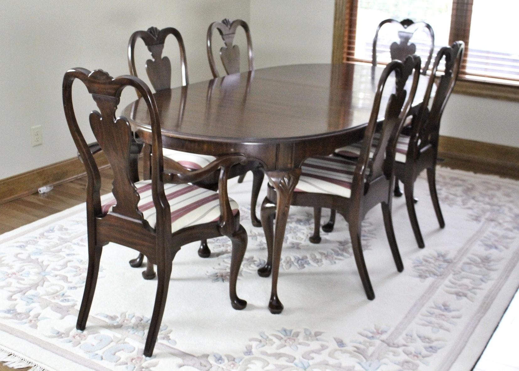 American Heritage Cherry Diningroom Set By Harden Furniture ...