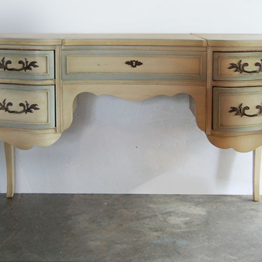 Vintage French Provincial Dressing Table