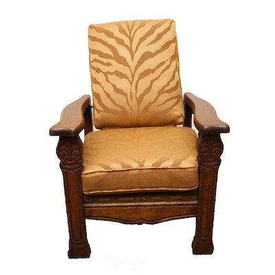Antique Child's Morris Chair - Online Furniture Auctions Vintage Furniture Auction Antique