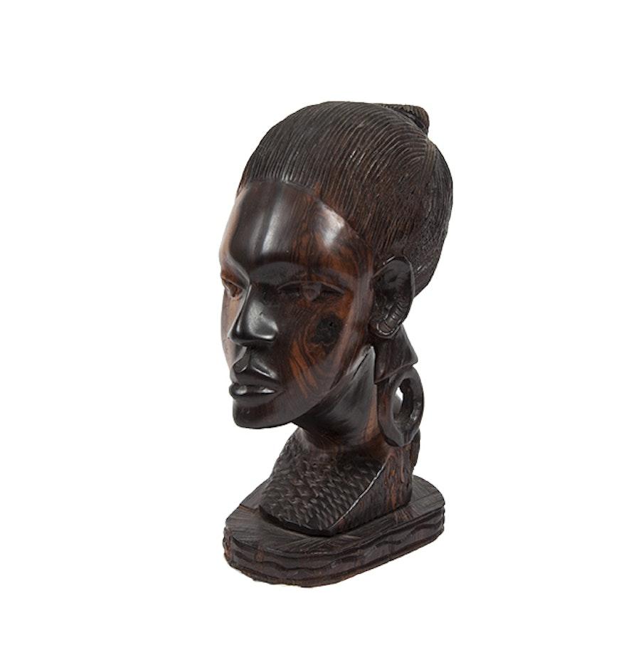 Ebony Bust 27