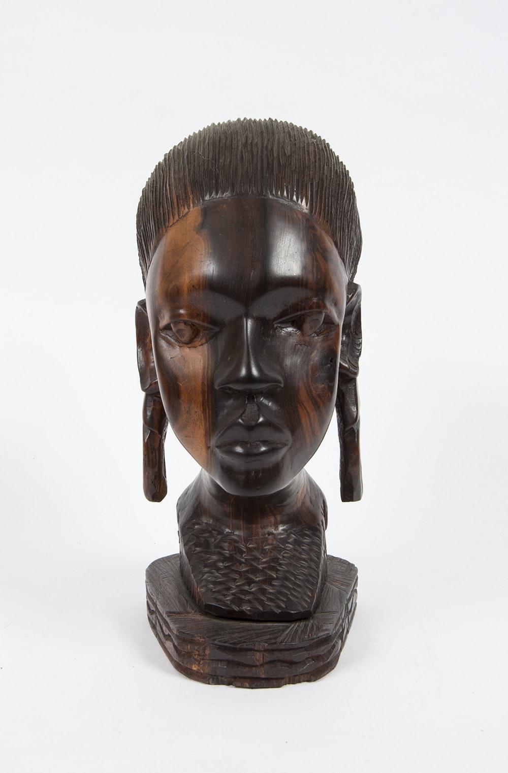 Ebony Bust 90