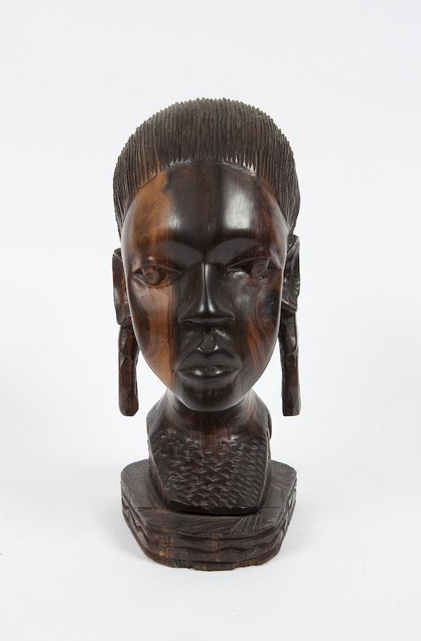 Ebony Bust 40