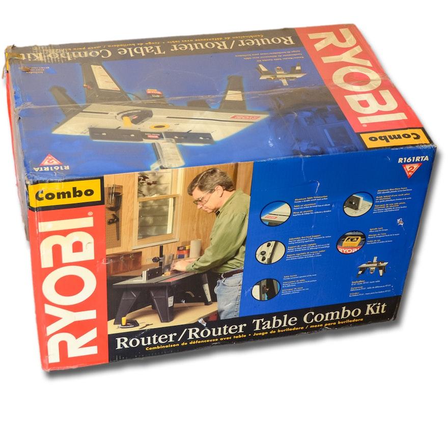 Ryobi R161 Router Table Combo Kit