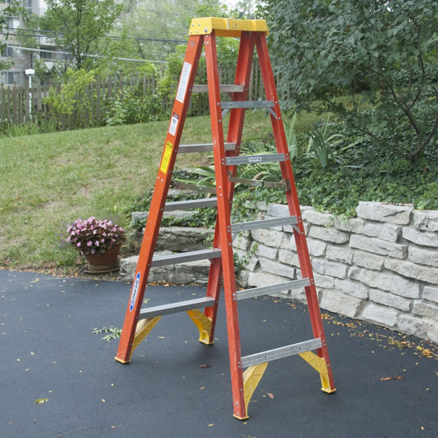 Werner A-Frame Ladder : EBTH