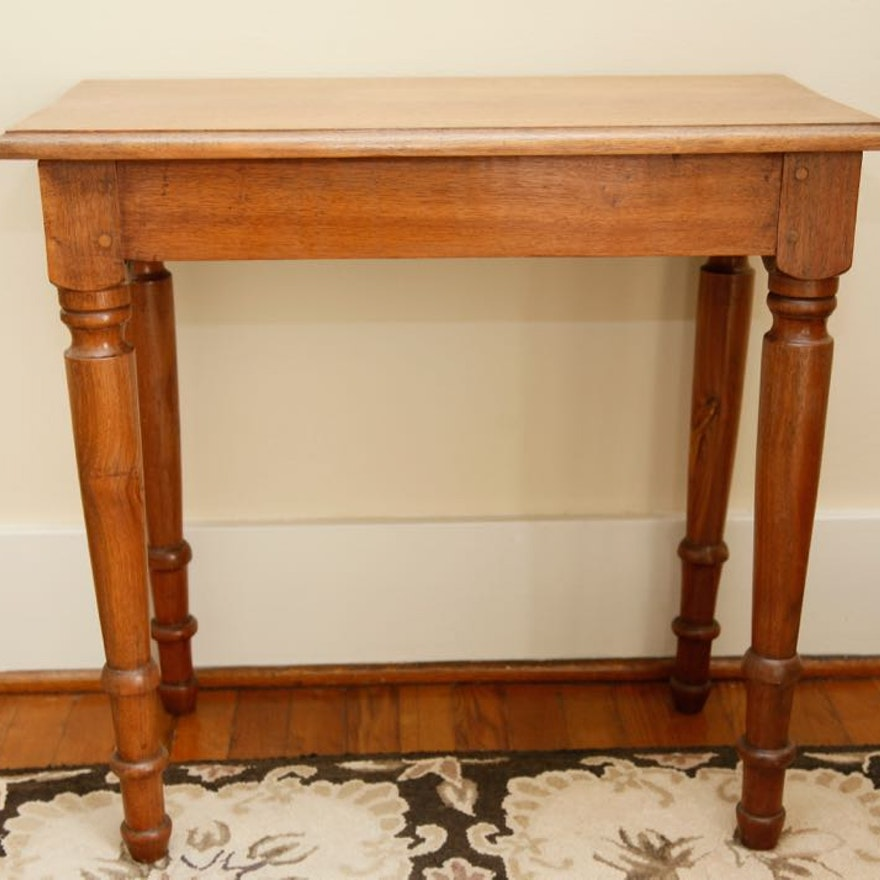 Vintage Cherry Side Table