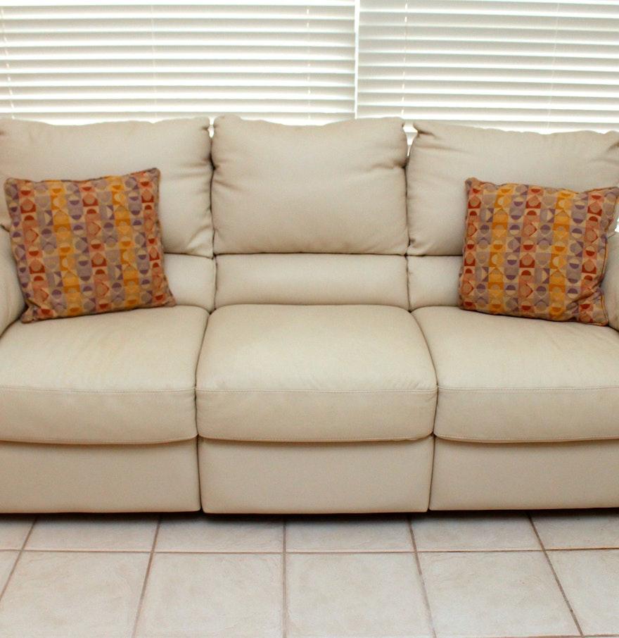 Italsofa Leather Sofa: Italsofa Leather Sofa : EBTH
