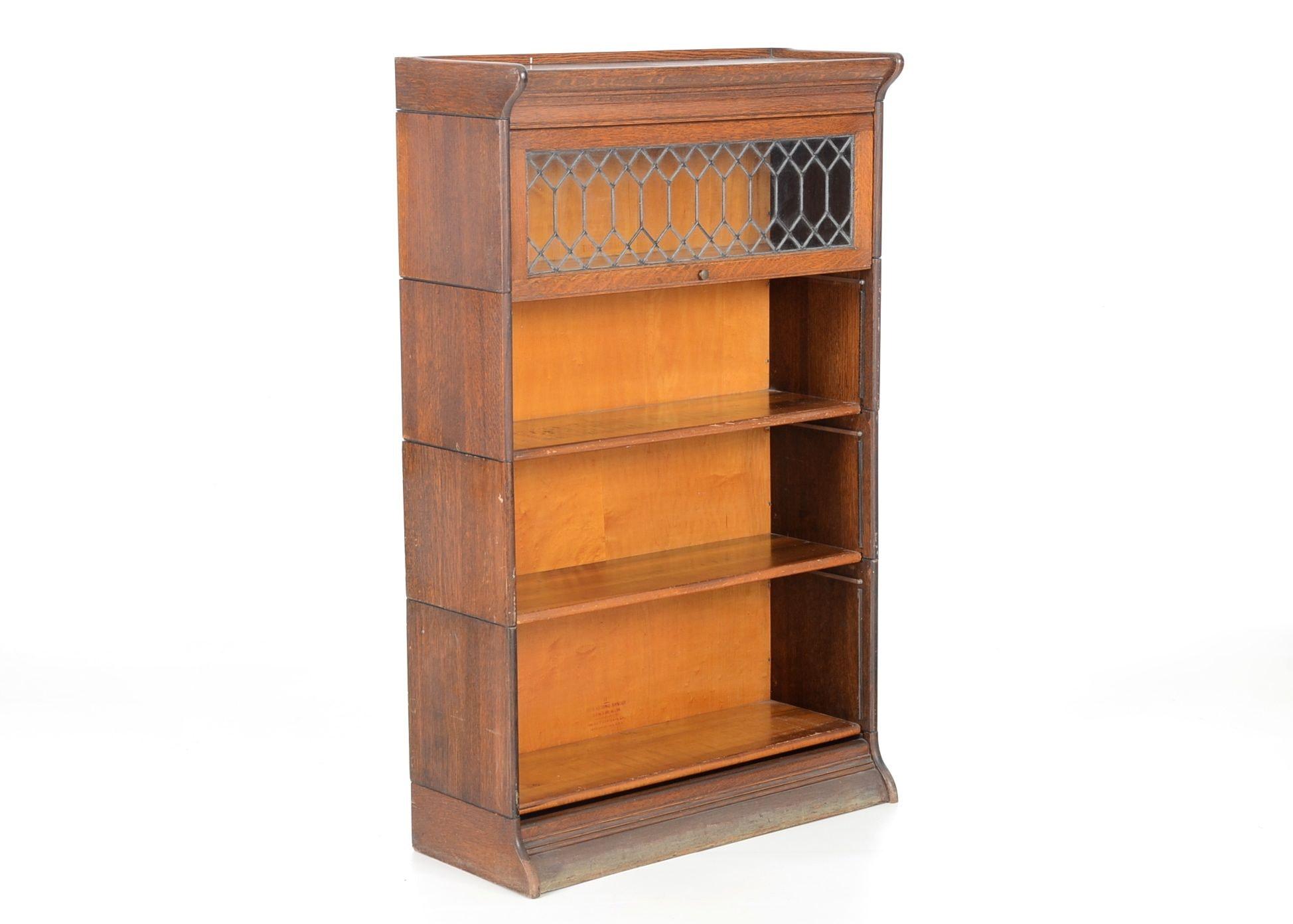 Gunn Six Piece Barrister Bookcase Circa 1901 Ebth
